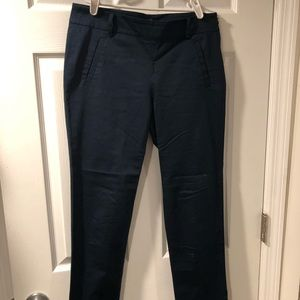 Navy ankle work pants